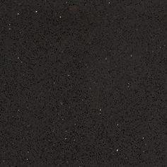 Hanstone Quartz Classic Series Obsodian Black CT401