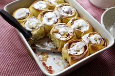cranberry-orange breakfast buns - delicious, but no need for icing.