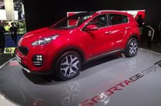 2017 Kia Sportage Arrives in Frankfurt with 1.6L Turbo-Four, DCT. Powertrain is shared with closely related Hyundai Tucson.