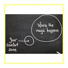 Love this diagram :ok_hand:Outside the #comfortzone is #wherethemagichappens #remindyourselfdaily #motivation #inspire #pushyourself #bedaring #bebrave #striveformore
