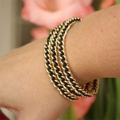 DIY Wrapped Bracelets