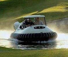 Hovercraft Golf Cart - http://tiwib.co/hovercraft-golf-cart/ #Transportation