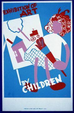 Exhibition of art by children
