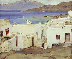 Μίκης Ματσάκης (1900-1978):Μύκονος