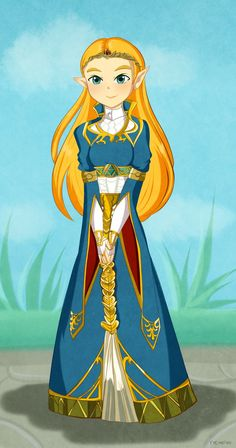 Princess Zelda by TeLinkfan1.deviantart.com on @DeviantArt