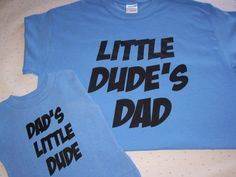Baby Boy Shirt Dad Shirt Father and Son Shirts Dude T shirt Father's Day Gift Baby Toddler Clothing Dad Shirt Family Shirt Dad And Son Shirts, Daddy And Son, Baby Boy Shirts, Fathers Day Shirts, Father And Son, Family Shirts, Boys Shirts, Baby & Toddler Clothing, Toddler Outfits