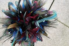 Feather bouquet - love