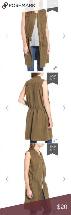 Hinge Drapey Utility Vest Like new Hinge Jackets & Coats Vests