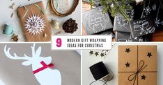 9 Modern Gift Wrapping Ideas For Christmas   CONTEMPORIST