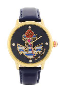 Betsey Johnson anchor watch
