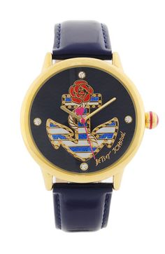 Betsey Johnson anchor watch