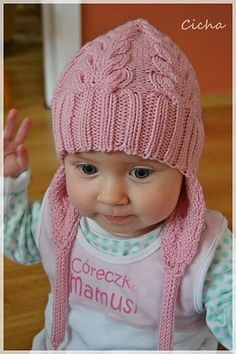 Free Pattern: I Heart Cables by Justyna Lorkowska