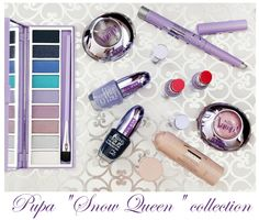 "Lovely ♡ Lyu: Pupa ""Snow Queen"" collection - часть 2: хайлайтер и палетка теней"