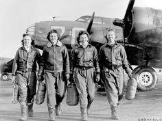 In tribute all women of WWII