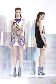 Just Cavalli SS 2014 collection , great pattern