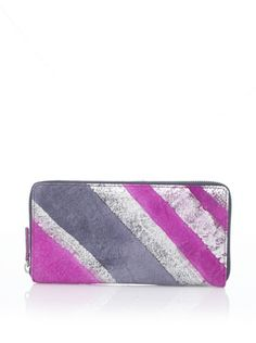 56 off lodis women s austin iris zip around wallet berry