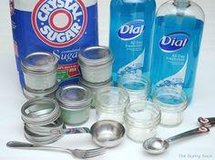 {Spa Party} Sugar Hand Scrub Recipe   The Gunny Sack