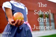 Simple Simon & Company: A SEW ALONG--The Vintage School Girl Jumper