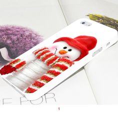 iPhone 5/5S - Sizzling Christmas Cases in Assorted Designs