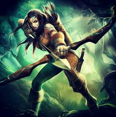 League of Legends - the marking on her face, shoulders and fingers would be great tattoo ideas