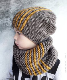 Knit Perky Little Hat Free Knitting Pattern Baby Hats Knitting, Knitting For Kids, Baby Knitting Patterns, Loom Knitting, Knitted Hats, Crochet Patterns, Vintage Knitting, Vintage Crochet, Crochet Hooded Scarf
