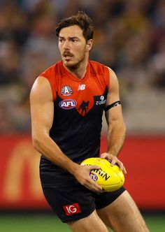 MELBOURNE will have to get the job done against Geelong at GMHBA Stadium without Michael Hibberd after the star defender was ruled out due to a quad strain. Australian Football, 28 Years Old, Get The Job, Demons, Rugby, Melbourne, Sexy Men, Fox