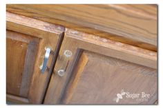 Touch-up Cabinet Staining