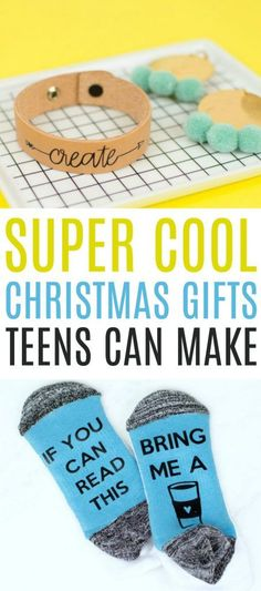 Today we want to show you these Super Cool Christmas Gifts Teens  Can Make. Just because these are good crafts for teens doesn't mean they aren't  amazing craft projects. #christmas  #diychristmas #holidays #diyholidayideas #diychristmasideas #diychristmasdecor  #diychristmasgiftideas #christmascrafts #christmaskidcrafts #diygiftideas  #christmasdiy #christmascrafts #diychristmasideas