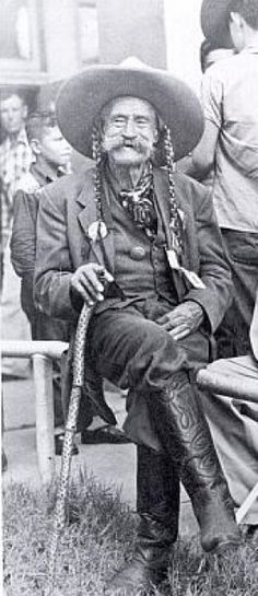 "Frank Boardman ""Pistol Pete"" Eaton - one of the best shots in the West, frontier lawman."