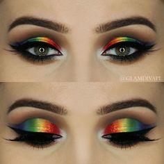 Gorgeous Makeup: Tips and Tricks With Eye Makeup and Eyeshadow – Makeup Design Ideas Eye Makeup Art, Makeup Geek, Makeup Inspo, Eyeshadow Makeup, Makeup Inspiration, Makeup Tips, Beauty Makeup, Makeup Ideas, Makeup Brushes