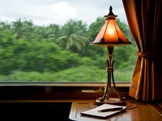 Orient Express Train Interior Photographic Print