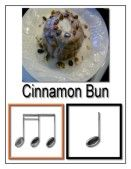 Whole website full of rhythm-and-food combo flash cards! So cute.