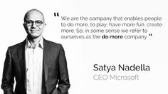 satya nadella motivational quotes