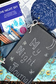 Always loved the idea of camp journals