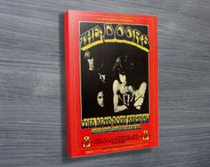 THE DOORS GIG POSTER 2 $26.00–$741.00 This is a print of the very rare Doors concert promoted by Bill Graham from February 1970, designed by Randy Tuten. This is a print of the poster and is sold on canvas, stretched over a quality timber frame and delivered ready to hang straight on the wall. http://www.canvasprintsaustralia.net.au/  #banksyprints #canvascollage #CanvaswallartAustraliahigh