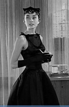 Audrey Hepburn's red dress in Sabrina