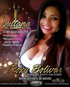 @sguarapiche  agente de ventas oficial de nuestro productos y servicios. @roxy.bolivar  #promocion  #publicidad