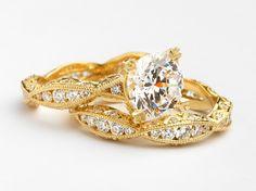 Tacori Gold.  #Engagement #Rings