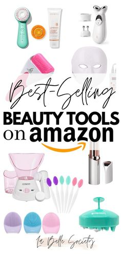 This is a post with the best beauty tools on Amazon. All the must have professional skincare products for at home self-care from the best-selling beauty products on Amazon. A current list of essential skin care tools perfect for gift ideas #skincaretools #selfcaregiftideas #skincaregiftideas #beautygiftideas #bestskincaretools Best Amazon Buys, Amazon Beauty Products, Beauty Products Must Have, Beauty Care, Beauty Skin, Beauty Makeup, Skin Care Tools, Beauty Must Haves, Mo S