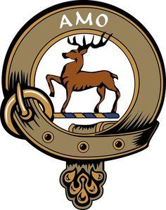 JOHNSTONE CLAN Crest vinyl sticker Truck Car Computer Scottish Johnston Maclain