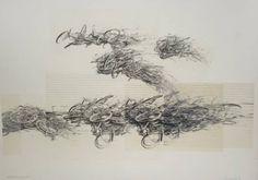 「転 位」銅版画78,5×108 ed12 1986年