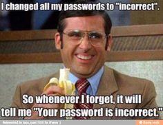 Haha! #funny #passwords #lol #stevecarrel