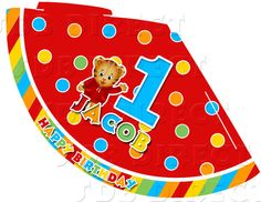 Daniel Tiger Party Hat Printable by SDBDIRECT on Etsy, $3.99