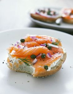 Everything Bagels (from scratch) + Lox