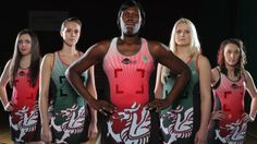 291e087b47c9c Welsh Netball Team - The Celtic Dragons.  BreathingFire  LookingAwesome   SamuraiFamily www.samurai-sports.com