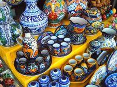 Talavera (Mexican Pottery) More At FOSTERGINGER @ Pinterest #artesaniasMexicanas