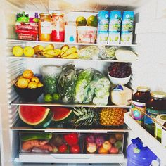 This is what the inside of your refrigerator should look like!