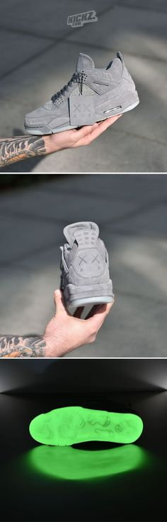 Shoes - Air Jordan 4 x KAWS Pinnacle Release Cream of the crop Absolute gem AirJordan Kaws kickzcom Jordan 4, Sneakers Mode, Sneakers Fashion, Shoes Sneakers, Women's Shoes, Nike Free Shoes, Nike Shoes, Herren Outfit, Nike Air Jordans
