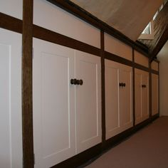 The client brief was for a storage unit built into the eaves of a historic house in a Wiltshire village. The client wanted drawer spaces but wanted a more traditional feel with shaker style doors… Eaves Storage, Shaker Style Doors, Bedroom Loft, Handmade Furniture, Historic Homes, Wood Design, Contemporary Design, The Unit, Traditional