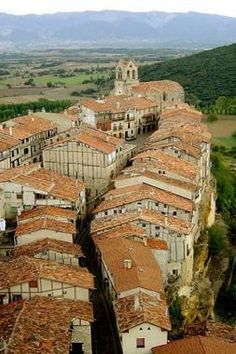 Frías (Burgos). Spain,  La ciudad más pequeña   #Merindades